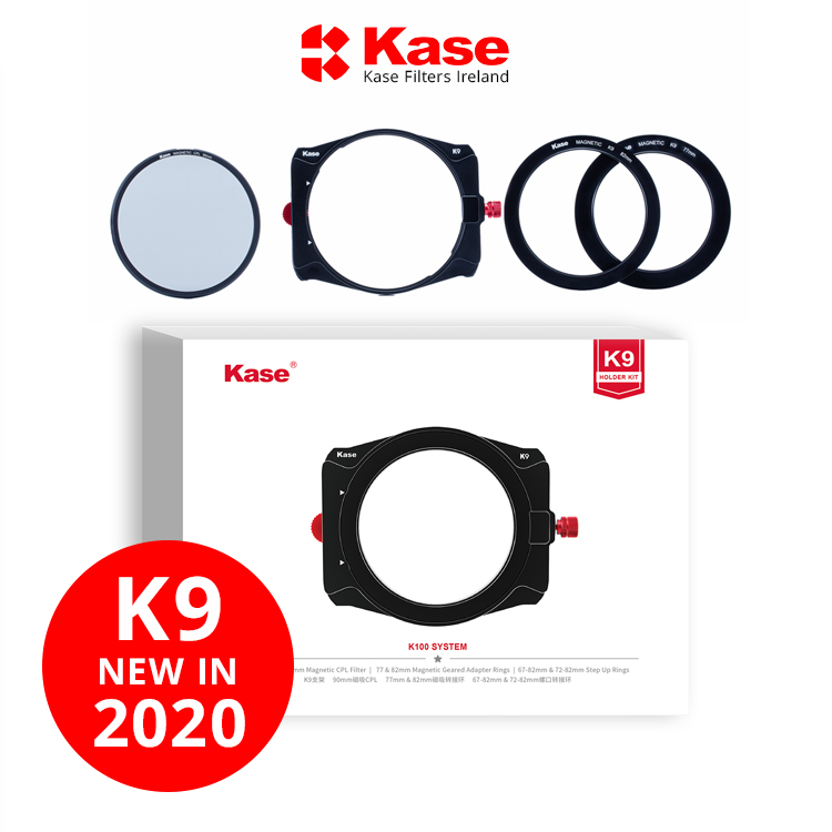 Kase K9 Magnetic 82mm Adapter for K9 100mm Filter Holder 90mm 82